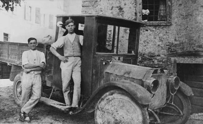 Un giovane Apollinare Veronesi nel 1930