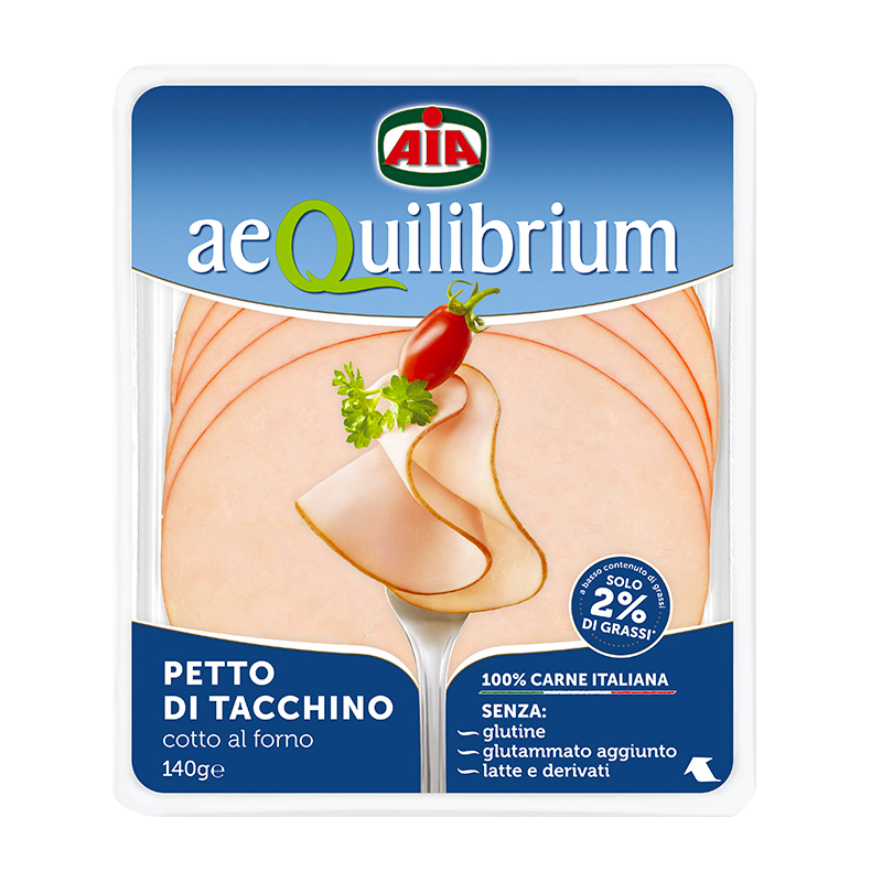 Petto di tacchino Aequilibrium di AIA Food, Agricola Italiana Alimentare
