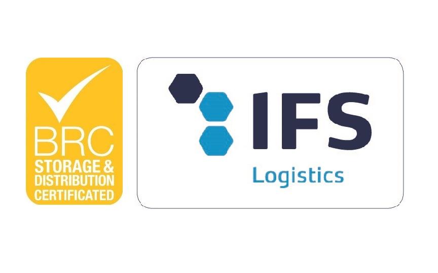 Certificato BRC e IFS Logistic