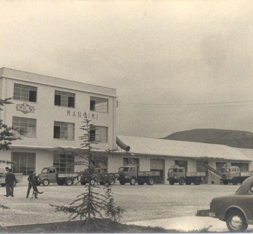 Primo impianto mangimistico Veronesi nel 1958